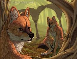 Red Dog Grove by KatieHofgard