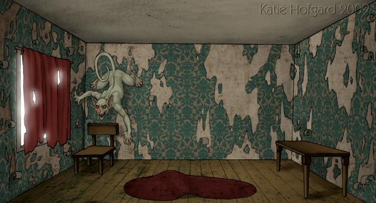 In a Dark Dark Room by KatieHofgard on DeviantArt