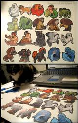 Fables Sticker Set by KatieHofgard