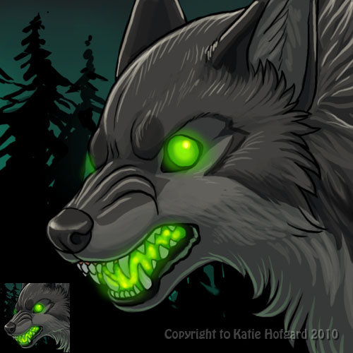 nym halloween icon by katiehofgard - Wolf Halloween