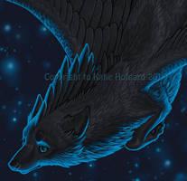 Lazuli Skies - Detail by KatieHofgard