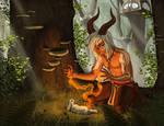 Forest Healer by KatieHofgard