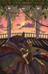 The Mosaic Tiger by KatieHofgard