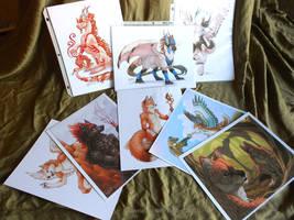 Grab-bag print samples