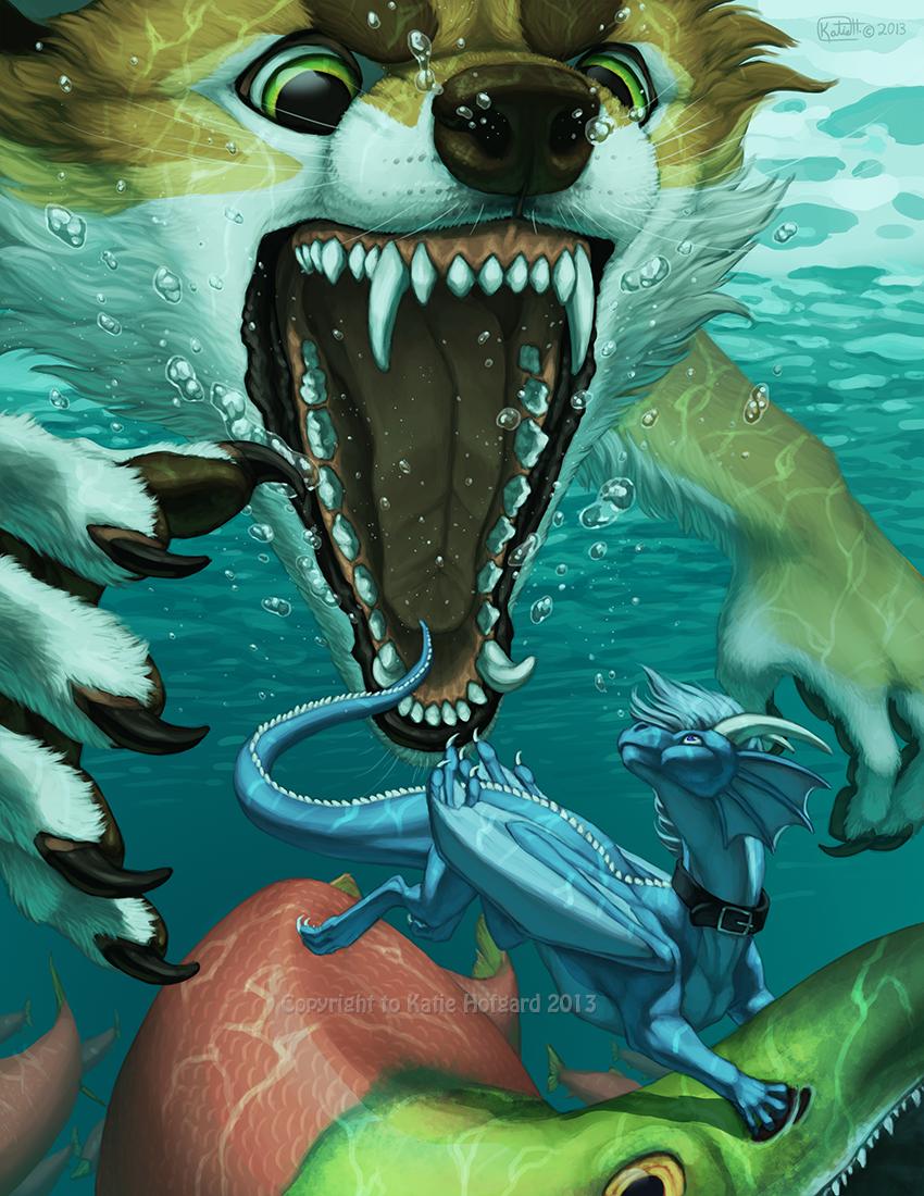 Underwater Snack by KatieHofgard