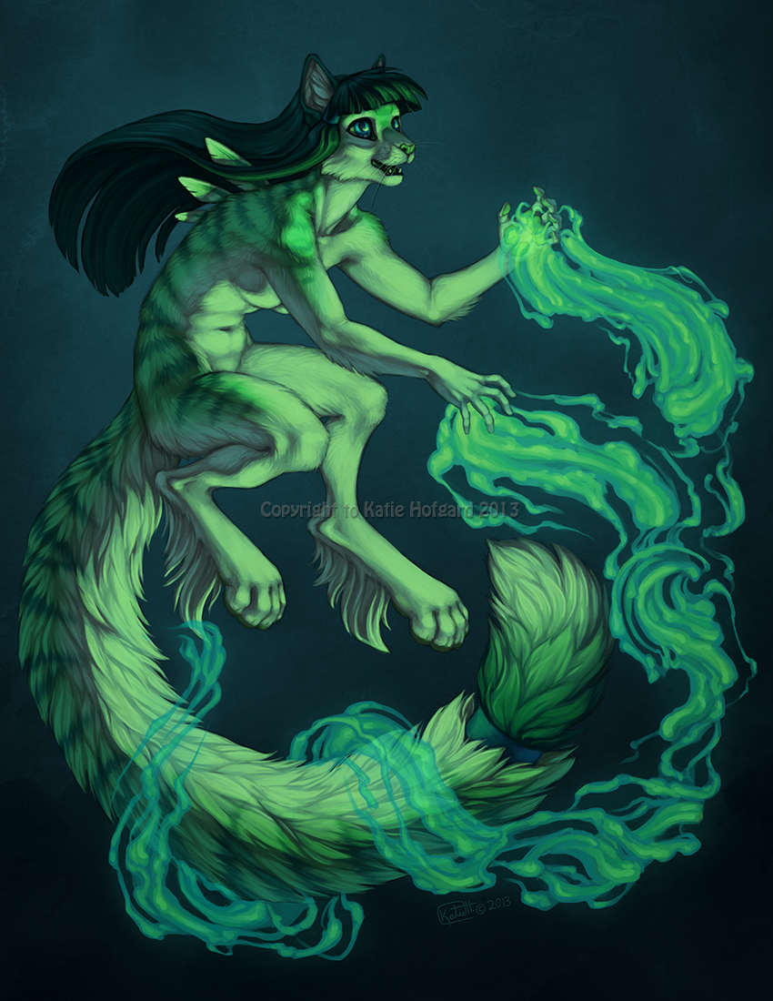 Emerald Flame by KatieHofgard