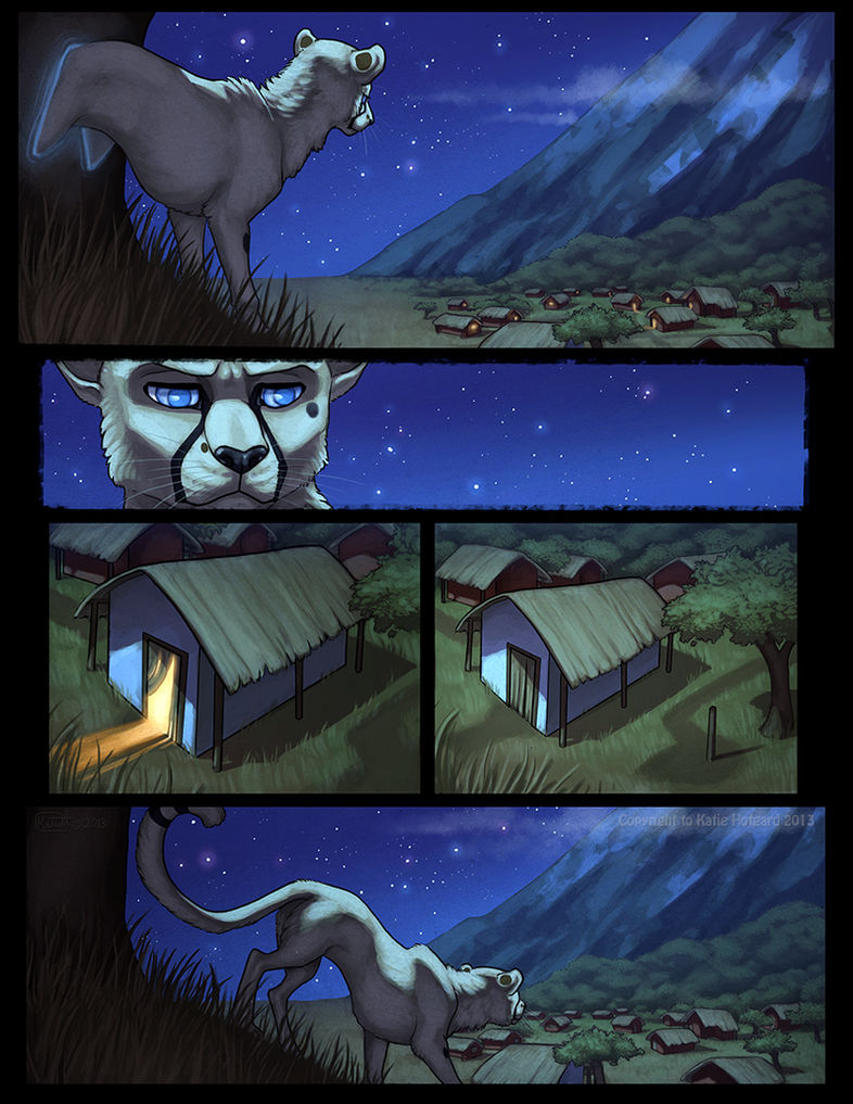 100 Deeds Page 01 by KatieHofgard