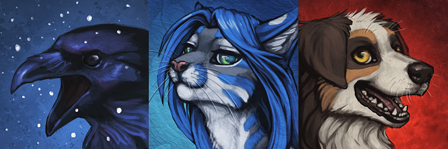 Painterly Icons by Shadow-Wolf