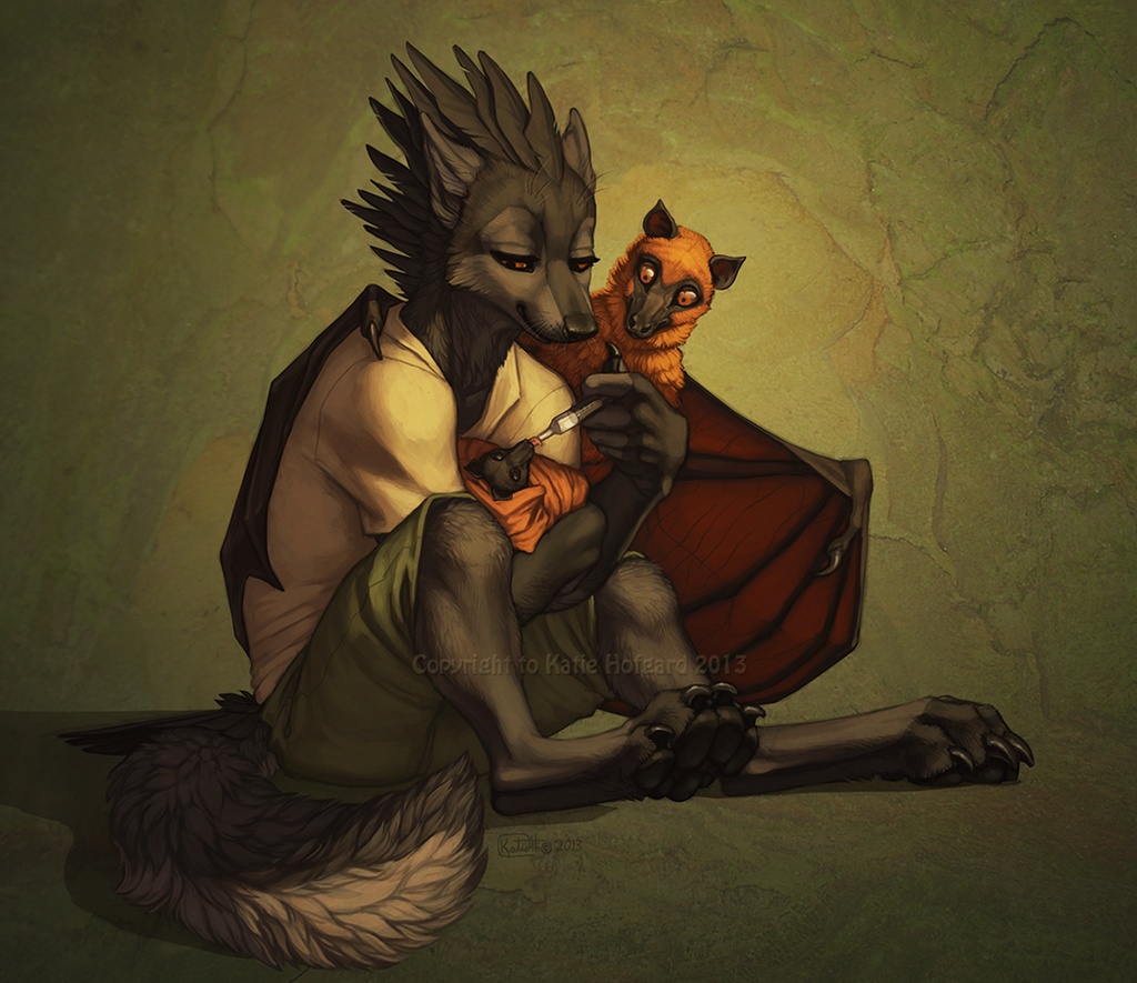 Warmth and Care by Shadow-Wolf