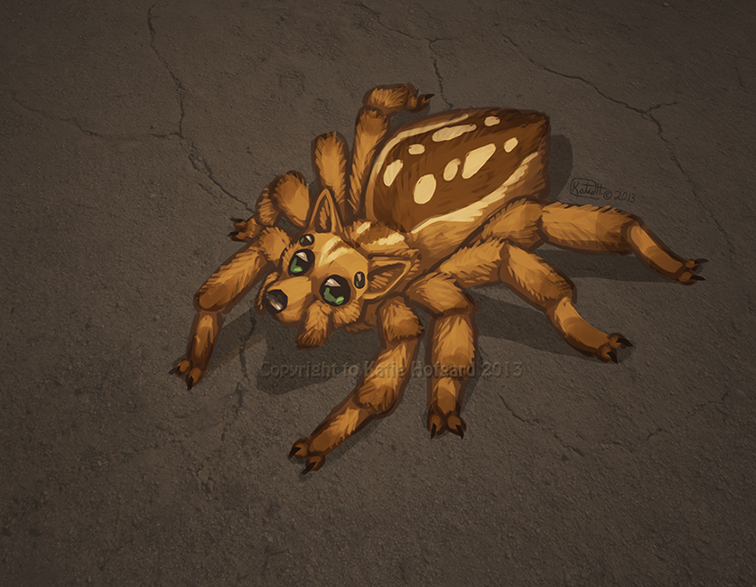 DingoSpider by Shadow-Wolf
