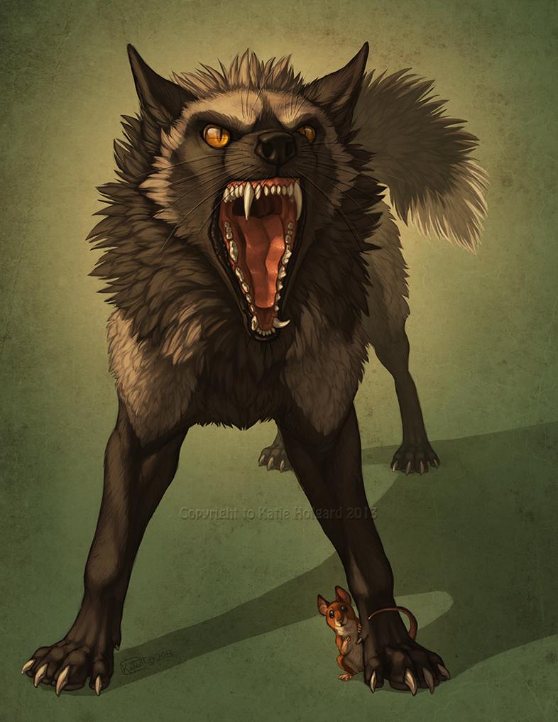 Fierce Friend by Shadow-Wolf