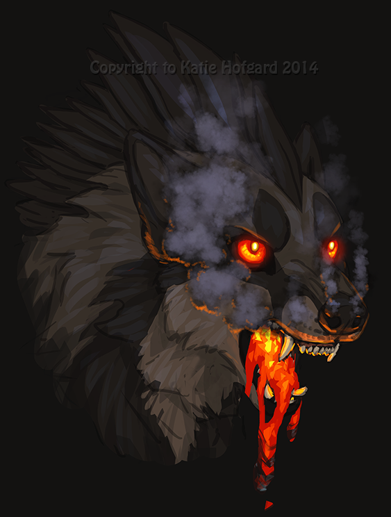 Lava Barf by Shadow-Wolf