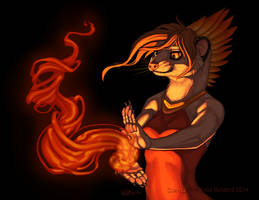 Feathered Flame by KatieHofgard