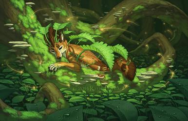 The Fern Sleep by KatieHofgard