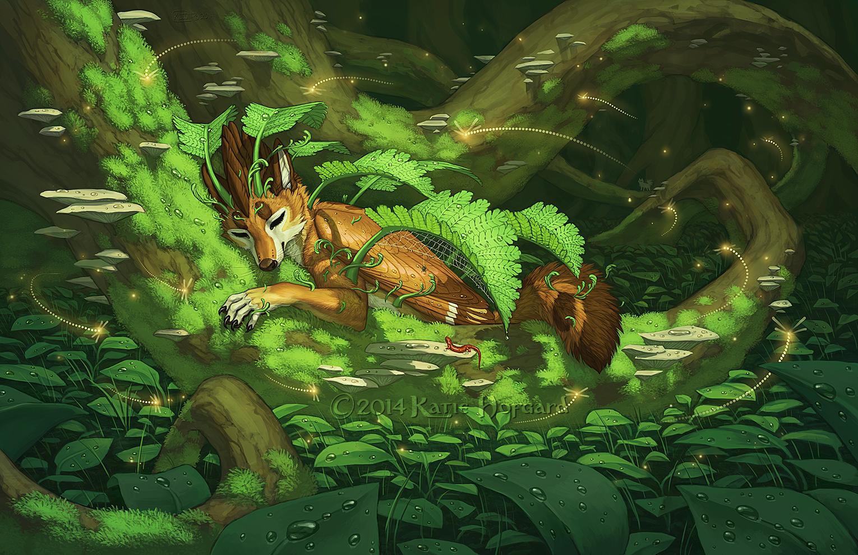 The Fern Sleep by Shadow-Wolf