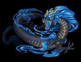 Kyu Azure Dragon