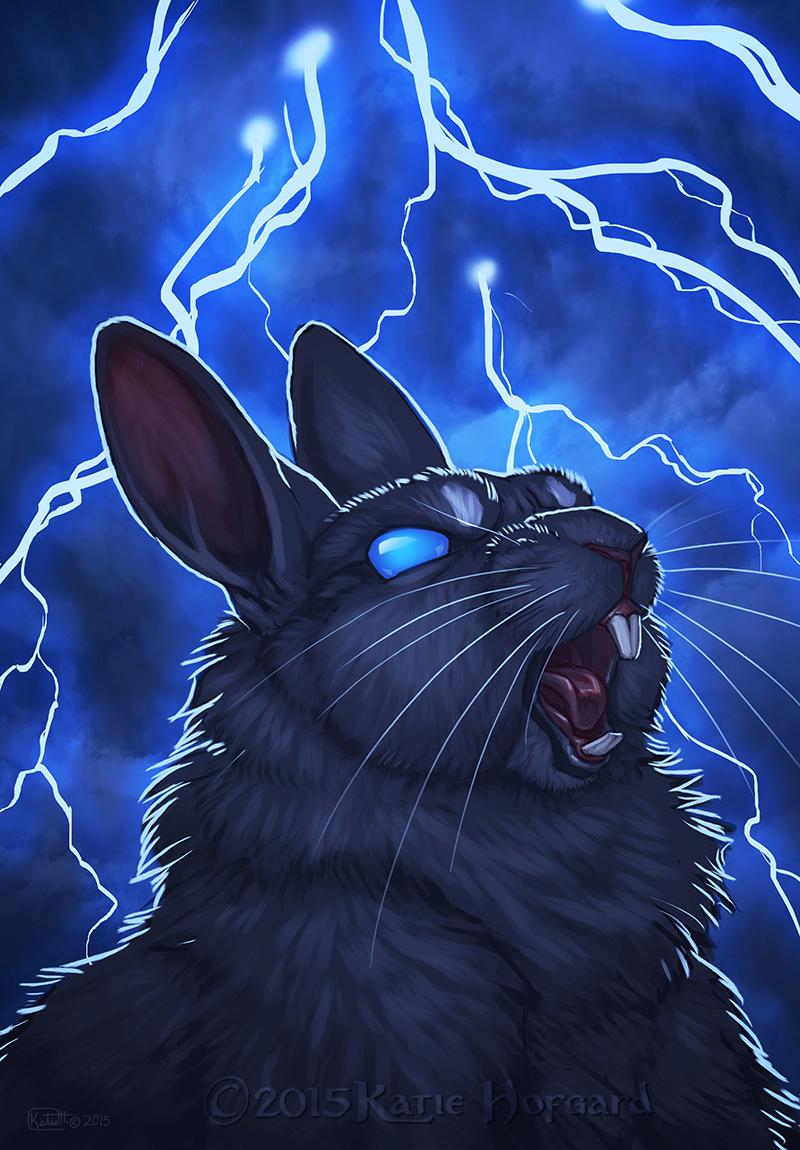 Image Gallery Lightning Wolf Art