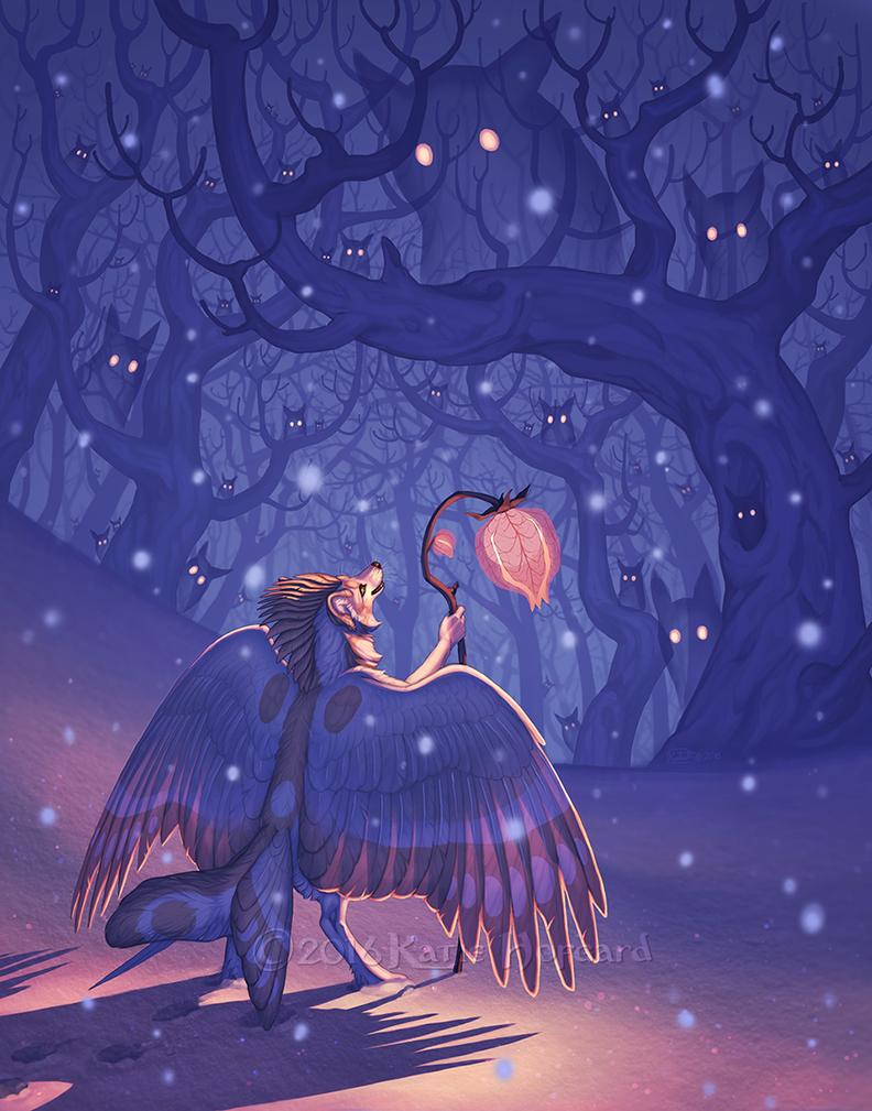 Winter Spirit's Night by KatieHofgard