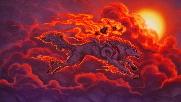 Racing The Sun by KatieHofgard
