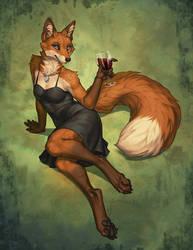 Fox in the Vinyard