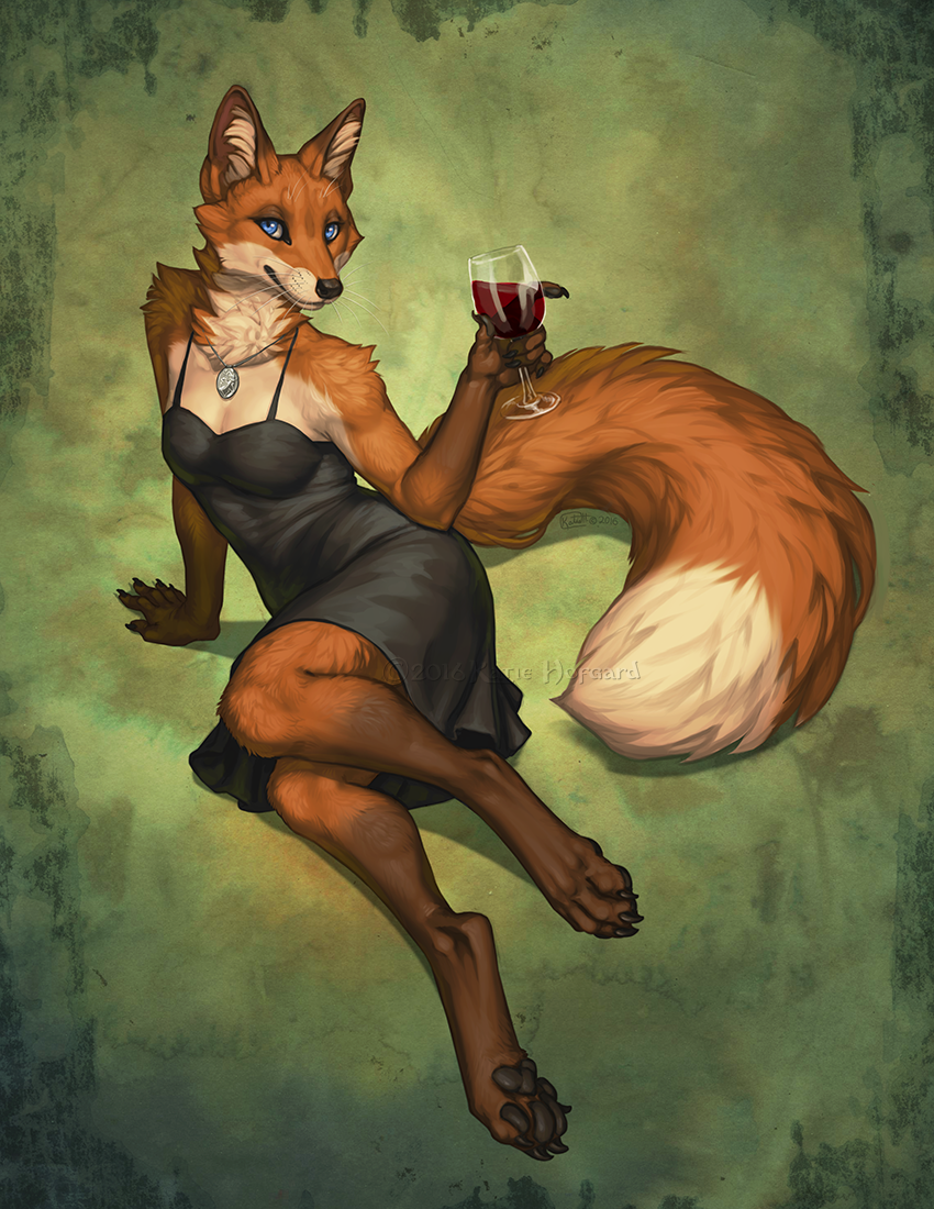Fox In The Vinyard By Katiehofgard On Deviantart