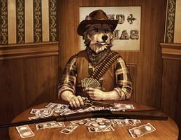 Wild West Wolf by KatieHofgard