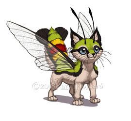 Felis Lepidoptera - Pellucid Hawk Moth by KatieHofgard
