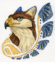 Velux Art Nouveau Portrait by KatieHofgard
