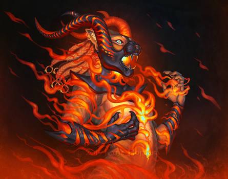 Flame Thrall