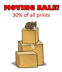 Moving Sale by KatieHofgard