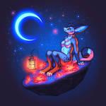 Kashmere's Night by KatieHofgard