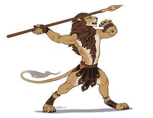 TeaFeathers Historical Figures - Spearmaster Okoje