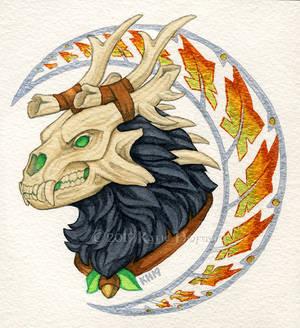 Druid Portrait The Second