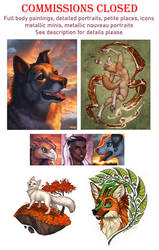 Autumn/Halloween Commissions CLOSED