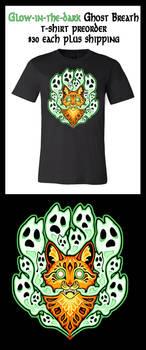 Ghost Breath Glow-in-the-Dark T-shirt Preorder