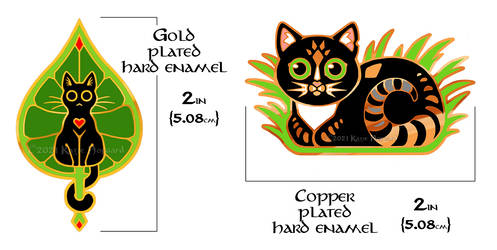Cat Pins PREORDER