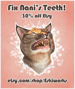 Sale for Nani's Teeth