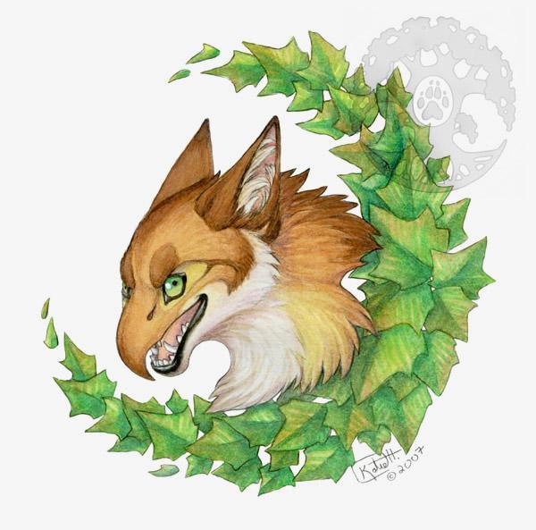 Beak Animal Wreath by KatieHofgard