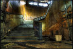 Stairs, Abandoned sanatorium