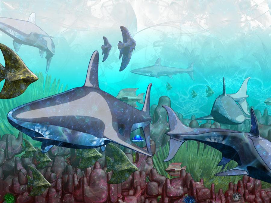 Oceanic Fractals
