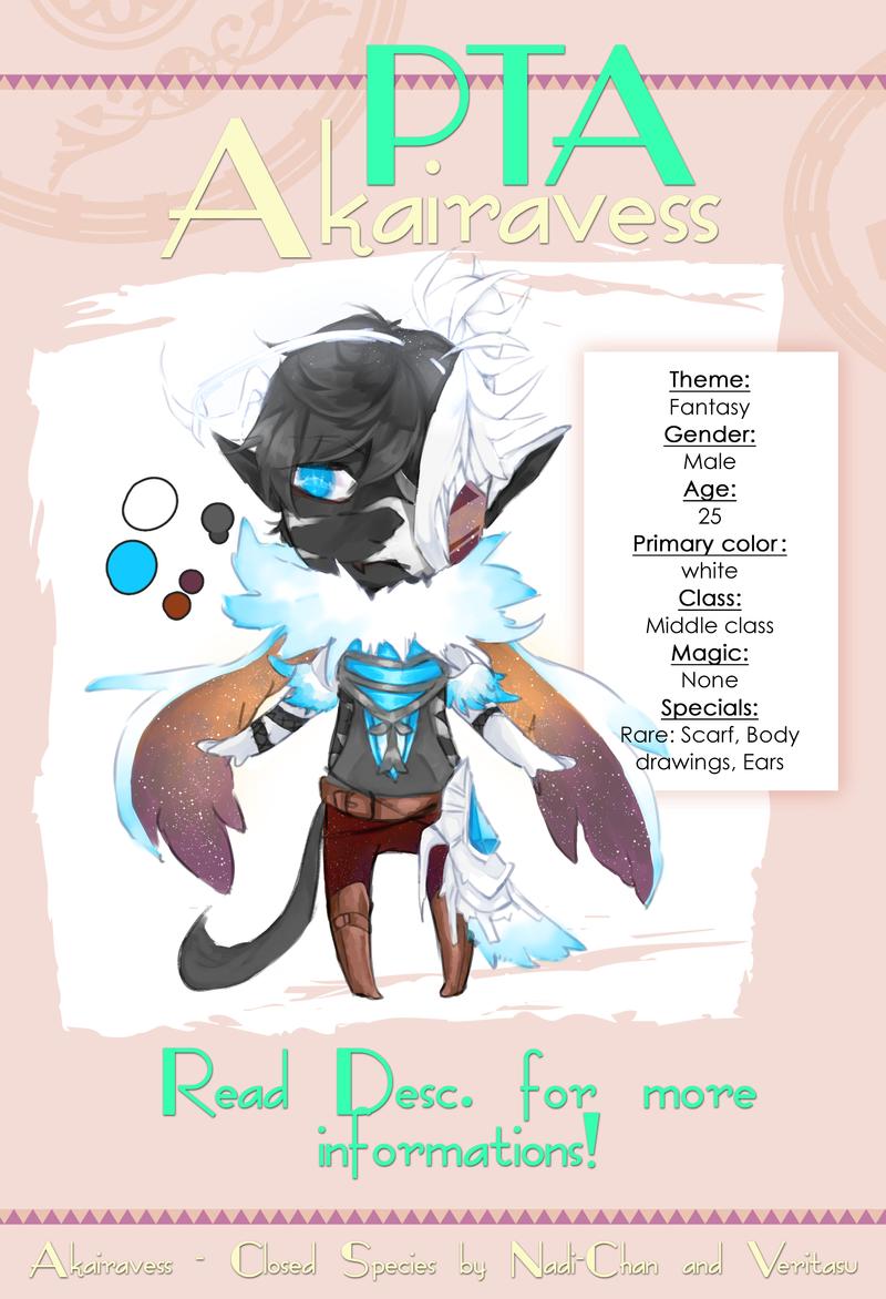 [CLOSED AUCTION] Akairavess Adopt #1 by VeritasU
