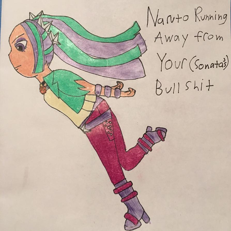 Aria Naruto Run by Tetodash