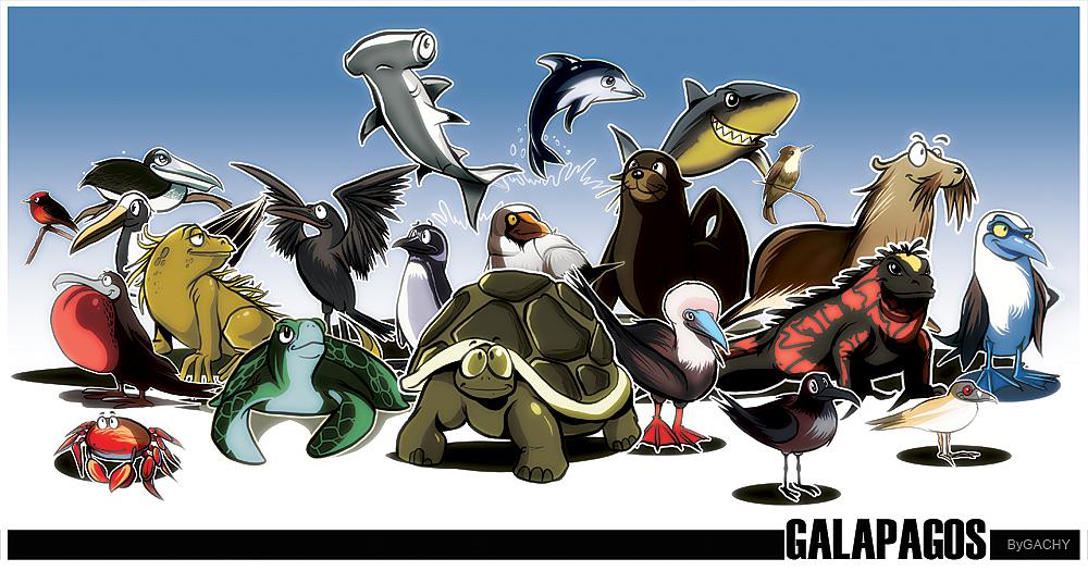 ... GALAPAGOS... by GACHY-CELTA