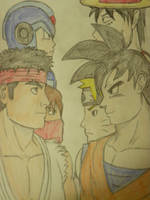 Shonen Jump vs Capcom by pimpinfresh2
