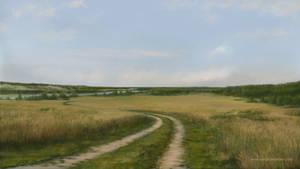 Landscape #2 (iPad art) by S-Lebedev