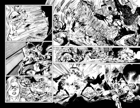 Blackest Night JSA 01 pages 10-11