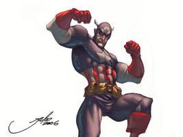 Captain America by julioferreira