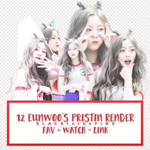 Eunwoo's PRISTIN Render Pack ~ by #young