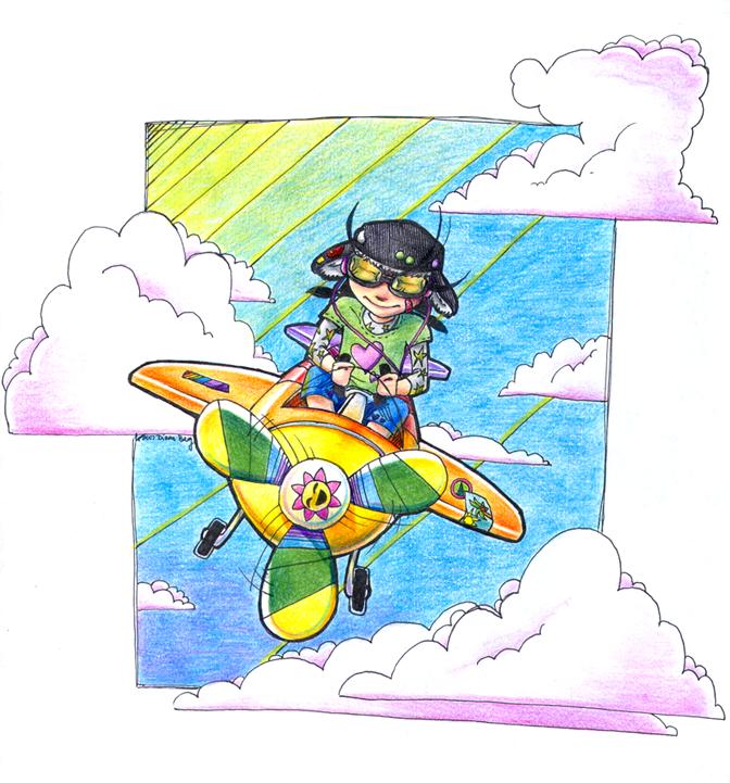 Airplane by gloomy-optimist