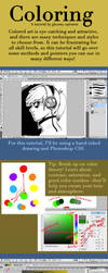 Tutorial: Coloring in Photoshop by gloomy-optimist